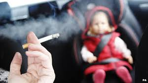 smoking ban in cars with children
