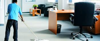 Leeds Hypnotherapist Deep Cleaning Office