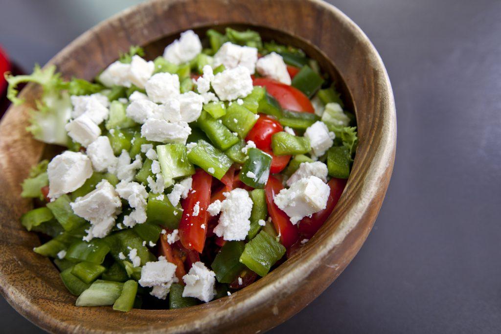 Food phobia of salad, vegetables or fruit