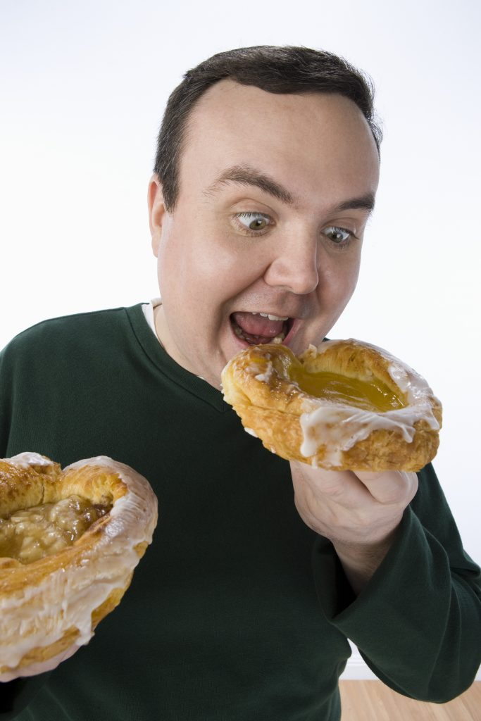 Hypnotherapy to stop eating the wrong things